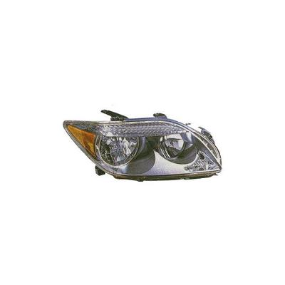 2005-2007 Scion tC Left - Driver Side Headlight Assembly - Action Crash SC2502101V