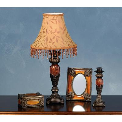 Meyda Tiffany 69538 Lamp Sets from the Amherst Collection Antique Brass