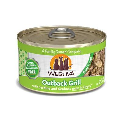 Weruva Outback Grill with Trevally & Barramundi Grain-Free Canned Cat Food, 3-oz, case of 24