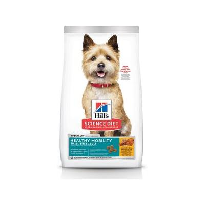 Hill's Science Diet Adult Healthy Mobility Small Bites Dry Dog Food, 15.5-lb bag