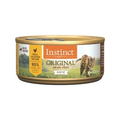 Instinct by Nature's Variety Grain-Free Chicken Formula Canned Cat Food, 5.5-oz, case of 12