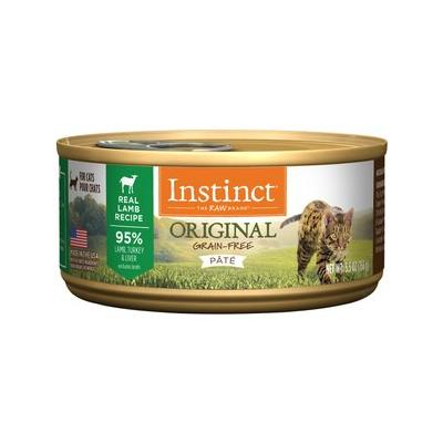 Instinct by Nature's Variety Grain-Free Lamb Formula Canned Cat Food, 5.5-oz, case of 12