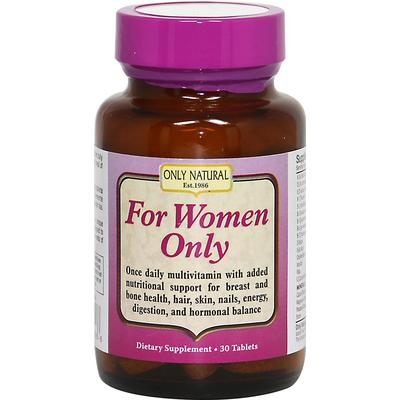 Only Natural For Women Only-30 Tablets