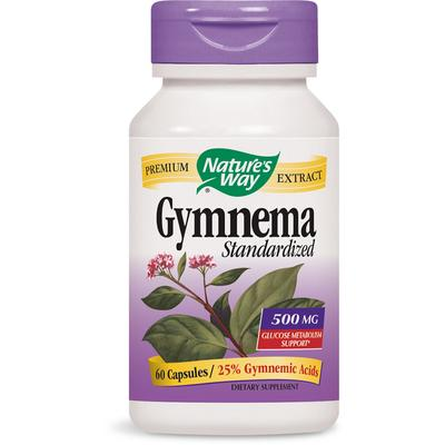 Nature's Way Gymnema Standardized Extract 500 mg-60 Capsules