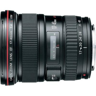 Canon EF 17-40mm f/4L Ultra Wide Zoom Lens