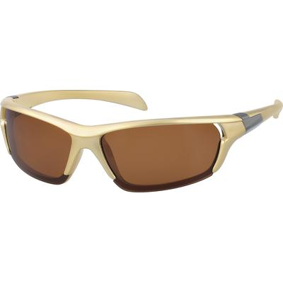 Zenni Sunglasses Brown Frame A10...