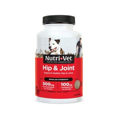 Nutri-Vet Hip & Joint Regular Strength Dog Chewables, 120 count