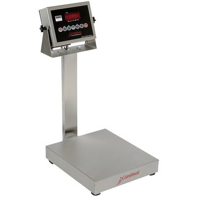 Cardinal Detecto EB-60-205 60 lb. Electronic Bench Scale with 205 Indicator, Legal for Trade