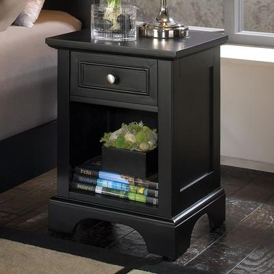 Bedford Nightstand, Black