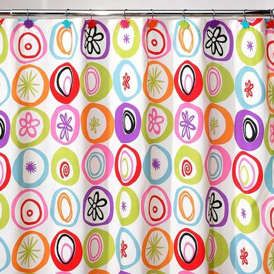 Creative Bath All That Jazz Fabric Shower Curtain, Multicolor