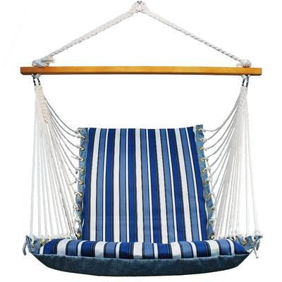 Algoma Reversible Cushioned Hanging Chair - Indoor & Outdoor, Multicolor