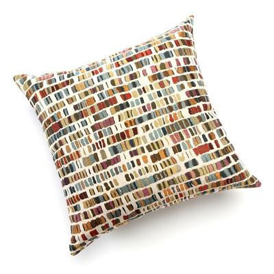 Bedrock Decorative Pillow, Beig/Green (Beig/Khaki)