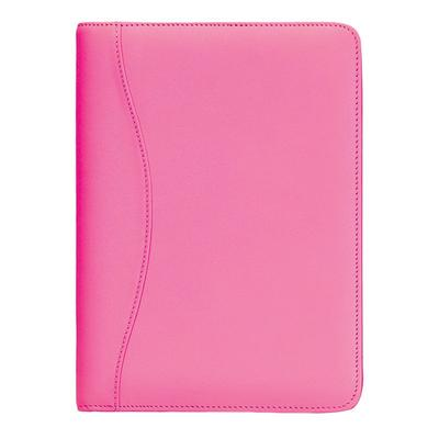 Royce Leather Jr. Padfolio, Pink