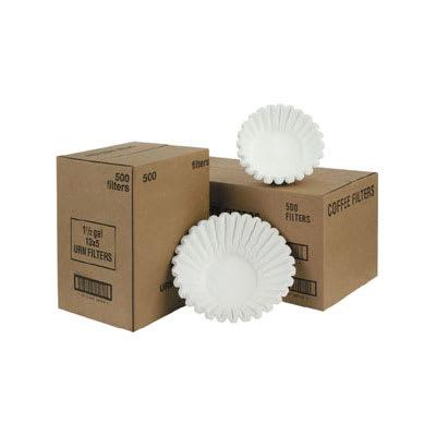 Fetco F004 Paper Coffee Filters - 20 x 8