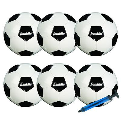 Franklin Sports Competition 100 Soccer Ball Team Pack, Multicolor