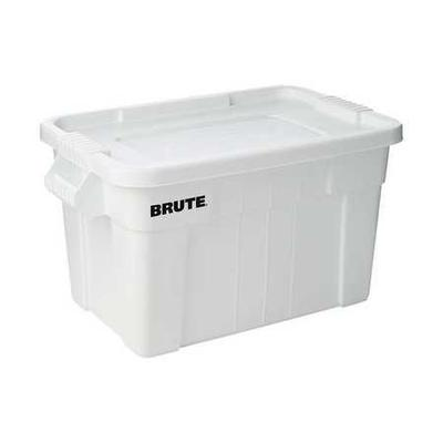When choosing the right storage container for you, consider what you'll be storing and the appropriate size, shape, and lid type. Here are some important details for Rubbermaid Storage Tote. Material: polypropylene, Color: White, Outside Length: 27-7/8\