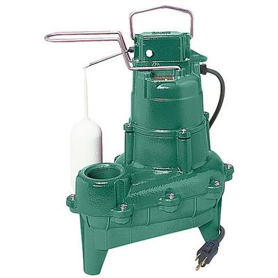 "Zoeller 4/10 HP 2"" Auto Submersible Sewage Pump 115V Vertical, M264"