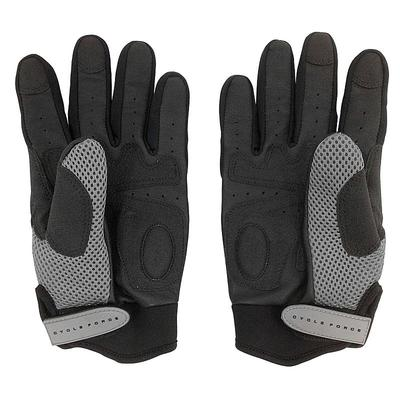 Cycle Force Full Finger Tactical Cycling Gloves, Black
