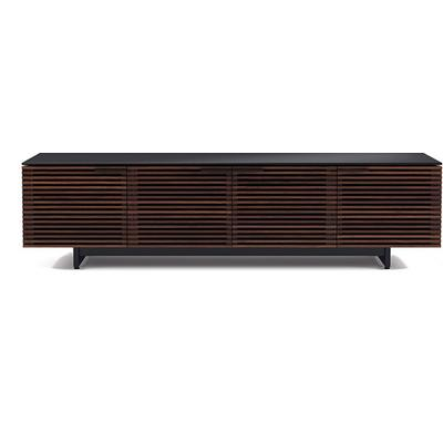 BDI Corridor 8173 Wide Media Cabinet in Chocolate Stained Walnut
