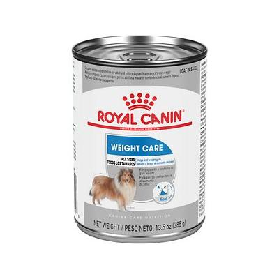 Royal Canin Weight Care in Gel Canned Dog Food, 13.5-oz, case of 12