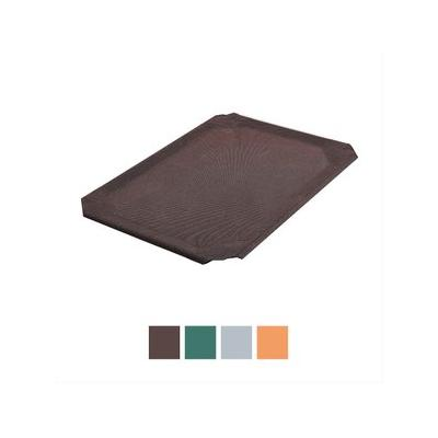 Frisco Replacement Cover for Steel-Framed Elevated Pet Bed, Brown, Small