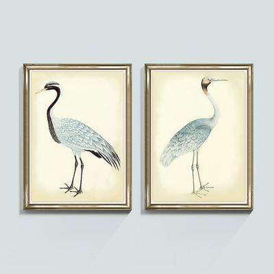 Ballard Designs Bunny Williams Bird Frame Print 53