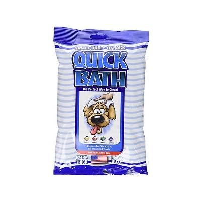 International Veterinary Sciences Quick Bath Small Breed Dog Wipes, 10 count