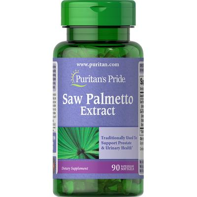 Puritan's Pride Saw Palmetto 1000 mg-90 Softgels