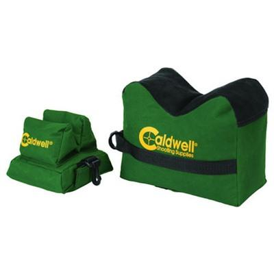 Caldwell Shooting Supplies Deadshot Shooting Bags - Filled Deadshot Boxed Combo Front & Rear Bag