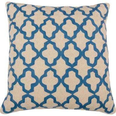 India\'s Heritage Royal Hand Embroidery Throw Pillow Features: Pillow has feather and down insert Contemporary geometric Product Type: Throw pillow Insert Included: Yes Legal Documentation: No Fill Material: Down/Feather Fill Material Details: Organic:...