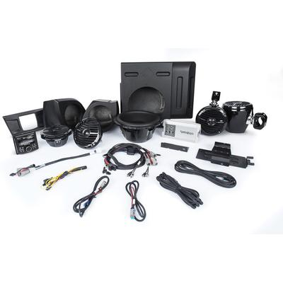 Rockford Fosgate YXZ-STAGE4 PMX-2, Front / Rear Speakers, Amp & Sub
