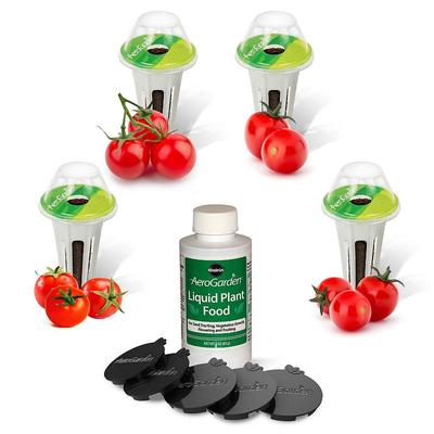 Miracle-Gro AeroGarden Red Heirloom Cherry Tomato 9-Pod Seed Kit, Multicolor