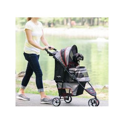 Gen7Pets Regal Plus Pet Stroller, Gray Shadow