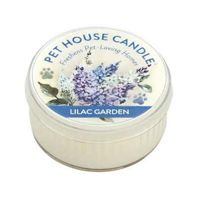 Pet House Lilac Garden Natural Soy Candle, 1.5-oz jar