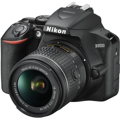 Nikon D3500 DX-format DSLR w/ 18-55mm Lens on Sale