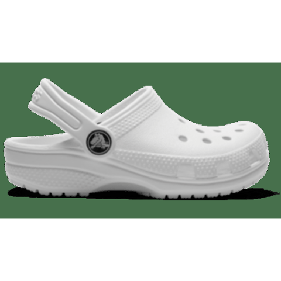 Crocs White Kids' Classic Clog Shoes