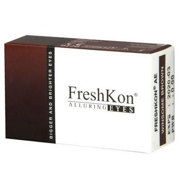 SB: Freshkon Alluring Eyes cosmetic color contact lenses - Dolly Eye Freshkon Alluring Eyes disposable cosmetic contact lenses make your eyes look naturally bigger and dazzling effortlessly