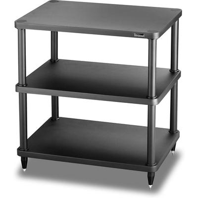 solidsteel S3-3 Audio Rack 3 Shelf- Black