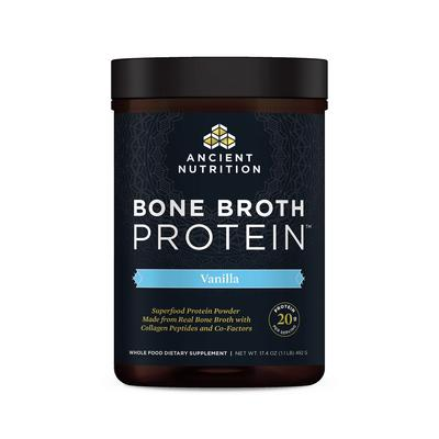 SB: Ancient Nutrition Weight Management - Bone Broth Protein Vanilla - Bone Broth Protein Vanilla - 16.2 oz (460 Grams). Supports Healthy Joints Skin Muscles and Detox!Introducing an all natural easily digestible protein powder complete with 20g of body building gut-friendly protein per serving with a naturally delicious...