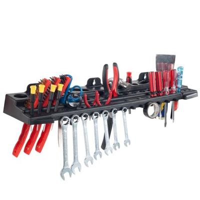SB: Multitool Organizer for Hand Tools, Automotive Tools, and Electric Tools, Wall Mounted Shelf by Stalwart This 22 Inch Multitool Organizer for Hand Tools, Automotive Tools, and Electric Tools from Stalwart is the perfect addition to any garage or workshop! If you're tired of searching through a messy tool box, tool set, or tool bag to find those tools you...